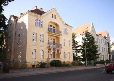 Przebudowa i zmiana sposobu użytkowania kamienic na cele dydaktyczne – budynki Collegium Philologicum PWSZ w Nysie