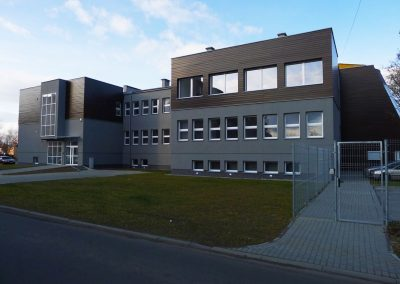 Adaptacja budynku gimnazjum na siedzibę Ośrodka Pomocy Społecznej