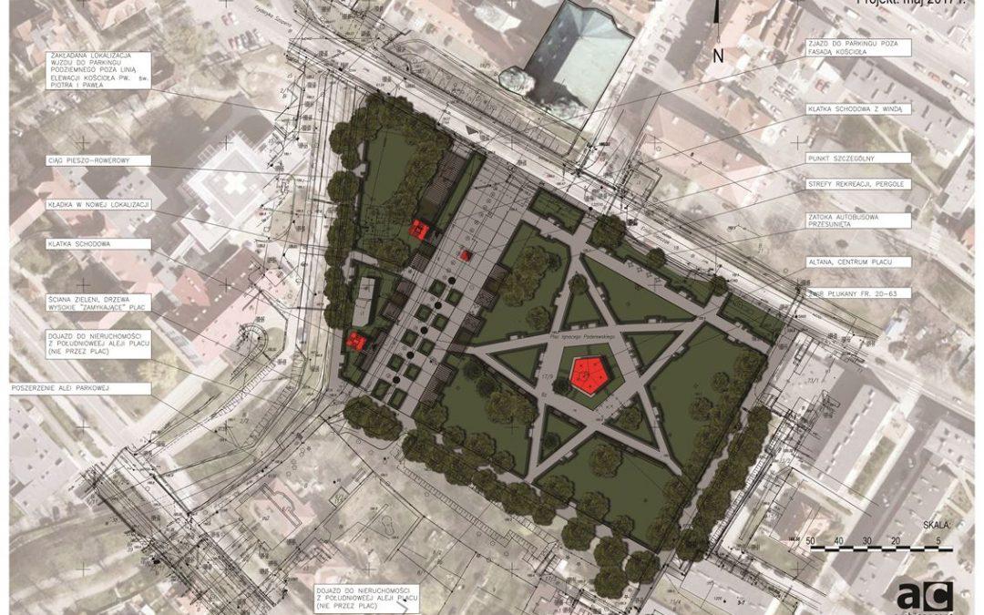 Rewitalizacja Placu Paderewskiego w Nysie