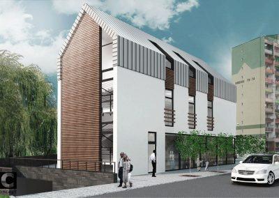 Budynek usługowo biurowy w Nysie