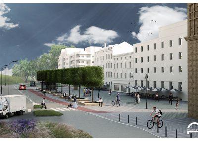 Przebudowa ulicy Piastowskiej w Nysie